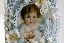baby cards / beautiful baby cards