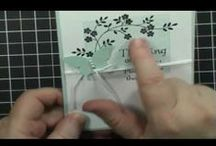 Tutorials and techniques 2 / videos on card making