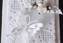 white on white cards