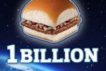 Over 1 Billon Served Daily! / White Castles, LateNite King of Burgers! / by James Martin