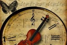 music and clock cards