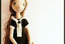 lalki - USZYTKI / Ręcznie uszyte zabawki, głównie lalki, czasem personalizowane, czasem odpersonalizowane, do odnalezienia na uszytki.pl
