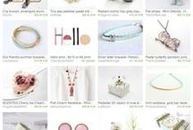 My Creations are featured in Treasure Lists on ETSY!!
