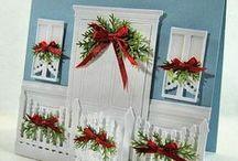 christmas cards 3  windows and doors