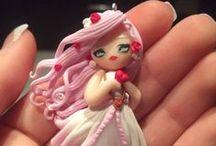 Il mondo delle doll / Bamboline a ciondolo per collane davvero uniche!