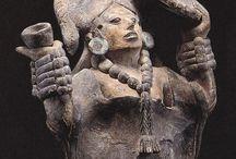 Figurillas mayas-Mayan Figurines