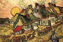 Vincent van Gogh / Pintor holandés que nació en Groot-Zundert, Países Bajos, 1853  y falleció en Auvers-sur-Oise, Francia en 1890.  Uno de los principales exponentes del postimpresionismo.