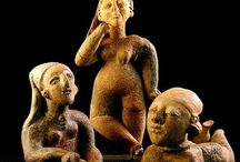 Figurillas de centro y Sudamérica-Southamerican Figurines