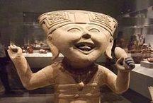 Figurillas veracruzanas y esculturas-Veracruz clay figurines and sculptures