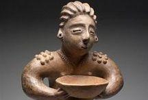 Figurillas de Occidente de México-Mexican Western Clay Figurines