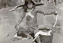 Malacates (husos) y tejidos etnográficos y prehispánicos