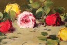 Robert Johnson / Robert Johnson paintings exhibited at Brazier Gallery