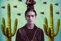 J'aime Frida / frida khalo, source d'inspiration