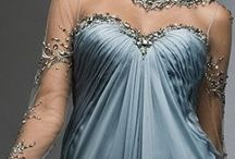 Gorgeous Gowns / Flowing full length gowns - simply beautiful!