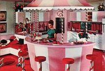 Kitchen Corner / Vintage inspired kitchen cuties