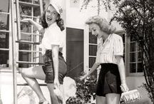 1940s / A decade of extremes - women join the war effort amidst Hollywood glamour, swing time with big bands and fashion to fight the wartime blues