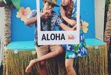Petrecere Hawaii Aloha Party Luau / petrecere, Aloha party, pool party, petrecere in aer liber, petrecere la piscina, petreceri tematice, beach party, Luau, summer party, island party, hula party, corporate party, idei de petrecere, dansatoare exotice