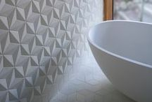 Tiles: Decorative / pretty, decorative tiles to add pattern and texture to tiled spaces