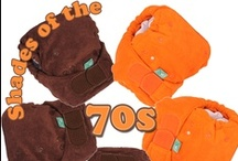70s! Orange and Brown / In honour of our shades of the 70s TotsBots cloth nappy kits, we're creating a board for all things orange and brown from the 70s... / by The Clean Green Nappy Machine