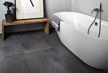 Bathrooms: Concrete jungle
