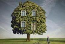 Photography: Photoshop sureal Houses