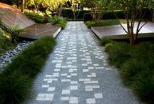 {Landscape} paving