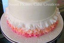 Ombre cakes
