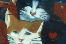 Cats & art