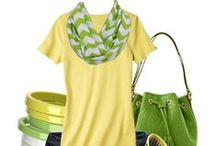 Yellow and Green / Bright and energetic yellows pair with rich, tropical greens.