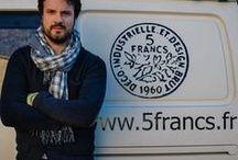 L'atelier 5 Francs / rénovation de mobilier industriel / L'atelier 5 Francs vue de l'intérieur