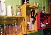 Reciclaje Deco / reciclaje de objetos de madera para decoracion del hogar y todo con estilo y vanguardia al mismo tiempo .
