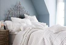 Home Decor: Master Bedroom -- Soft Blue / For a calming master bedroom retreat ...