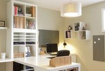 Crafting spaces/organization / by Kathy Coignard