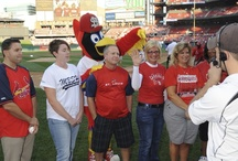2012 Health Hall of Fame Honorees / The 2012 BJC Health Hall of Fame honorees took center stage Sept. 29 for pre-game ceremonies during the St. Louis Cardinals-Washington Nationals series. The honorees and their guests enjoyed the Cardinals-Nationals game courtesy of BJC Help for Your Health in recognition of their health achievements. Meet this year's honorees: