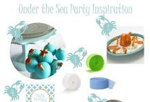 Under the Sea Party  / Fun ideas for an Under the Sea celebration.  Desserts, decorations and more from Tweedle Dee Designs. / by Brandi - Tweedle Dee Designs