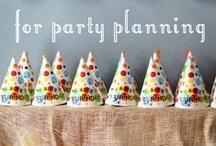Party Planning / by Brandi - Tweedle Dee Designs