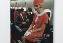 Airline / Airline: Style at 30,000 Feet published by Laurence King examines every aspect of airline style, from the company liveries and interior designs of planes to advertising, haute couture and airborne haute cuisine.