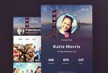 UX & UI / kumpulan desain aplikasi mobile.