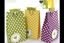 Stampin Up bags, boxes & gifts / Bags/boxes/gifts made with Stampin Up products / by Kathy Coignard