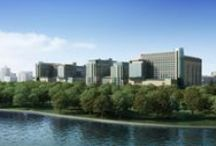 The Future of BJC HealthCare / Artist renderings of the BJC and Washington University School of Medicine campus renewal project. / by BJC HealthCare