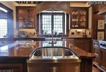 Kitchens and Ideas / Some stunning kitchens that have been decorated beautifully. These unique designs and the use of colors are guaranteed to awe and inspire.