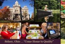 Sidney OH Lifestyle / Sidney is a city located in the Shelby County of Ohio. It's named after the English poet, Sir Philip Sidney. The city is home to some rare amenities such as a corn maze, a drive-in theater, and awesome architecture!