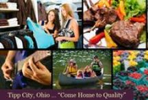 Tipp City OH Lifestyle / Tipp City is located just outside of the large city Dayton. It has a population of approximately 10,000 residents. It sits on the beautiful Miami River which has provided the opportunity for a biking/walking trail running alongside it!