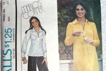 Vintage 1970s Sewing Patterns for Women's & Junior's Clothes at AngelGrace on Etsy / Vintage sewing patterns from the 1970s for misses, girls, and junior clothes, most uncut and never used. Please visit my etsy shop to see my current selection ... www.AngelGrace.etsy.com