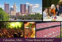 Columbus OH Lifestyle / #Columbus Rocks. An #awesome place to live, enchanting suburbs, entertainment abounds and a cultural mega-fest. Too, you should see some of the #luxuryhomes Columbus offers.