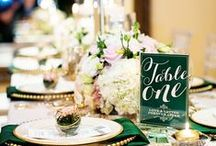 All About the Deets / Its the all about the little things! Wedding details that will make your day even more special.