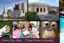 Grove City OH Lifestyle / #Grovecity is an energetic suburb of #Columbus, and not only are there some amazing buys on homes, but the area is appealing to many for rich shopping and family fun access.