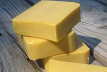 Soap and Lotion / Homemade soap and lotion recipes using safe ingredients.  / by Anna  Martin