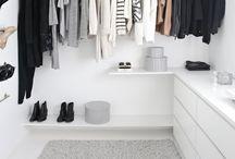 a home // wardrobe