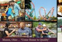 Mason OH Lifestyle / #Mason Ohio is a popular city in Warren County Ohio and is also very convenient to the larger #CincinnatiOhio area.